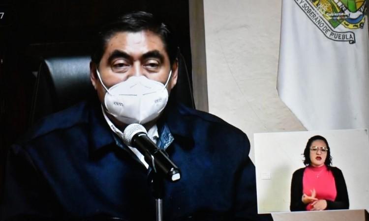 Anuncia gobernador Miguel Barbosa cambio de semáforo epidemiológico a color amarillo