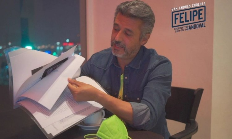Felipe Sandoval denunciará ante la Fepade a Karina Pérez por desvío de Recursos Públicos