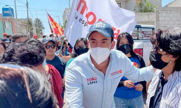 Habitantes del Distrito 20 de Puebla serán escuchados en el Congreso: Toño López
