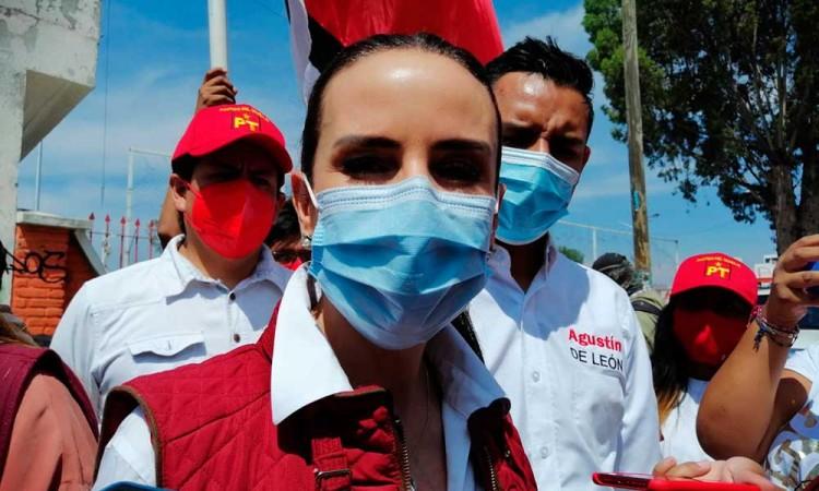 Golpea al Partido del Trabajo tema de Saúl Huerta en Puebla