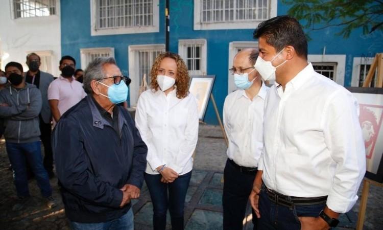 Que los jóvenes salgan a votar el 6 de junio, suplica Eduardo Rivera; dialogará con universitarios