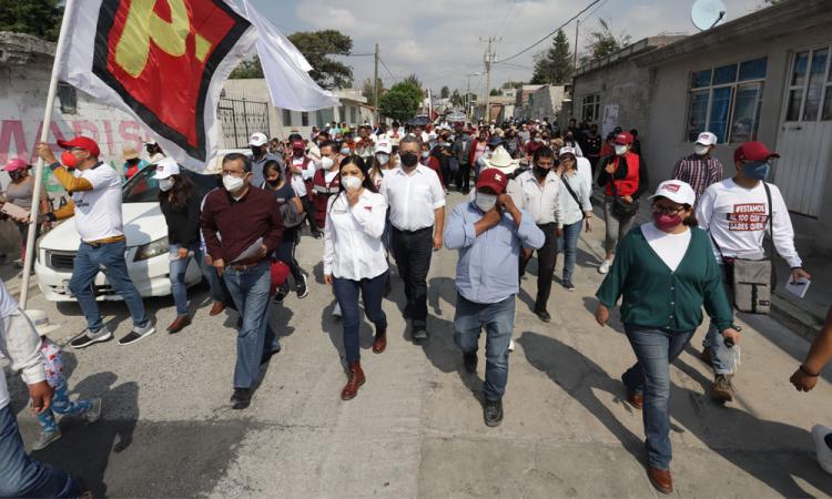Biestro responsable de desestabilizar la campaña, hemos recibido amenazas: equipo de Claudia Rivera