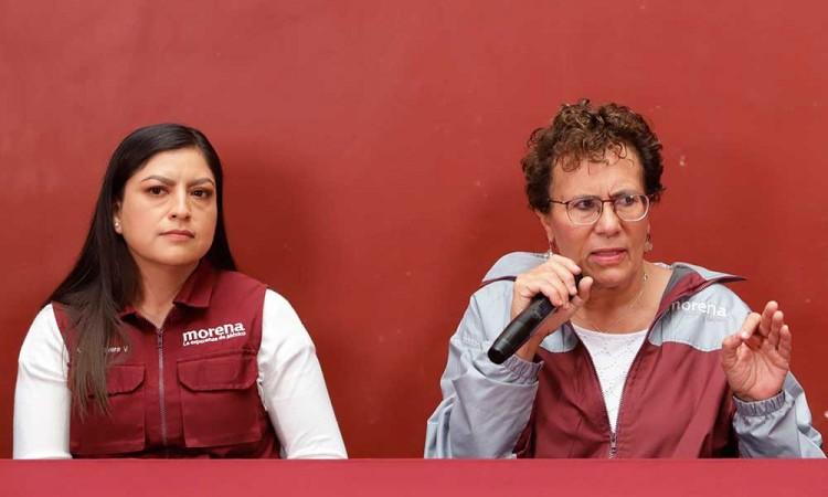 Pide Bertha Luján revisar actuar de Biestro contra Claudia Rivera