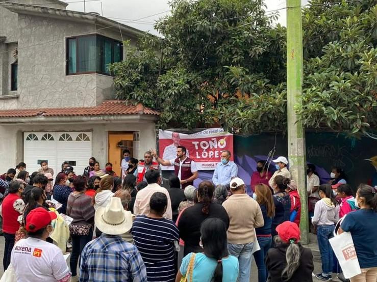 Poblanos merecen un estado seguro: Toño López