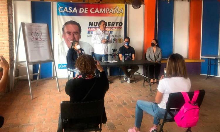 Humberto Aguilar buscará regresar las estancias infantiles en Puebla