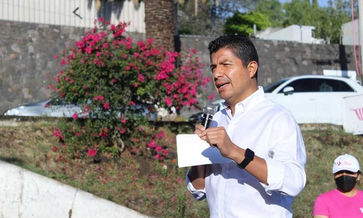 Eduardo Rivera presenta su proyecto Escudo Puebla, ayudará principalmente a policías