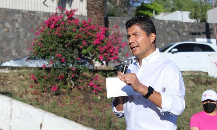 Exige Eduardo Rivera a las autoridades un clima de paz y seguridad en el proceso electoral