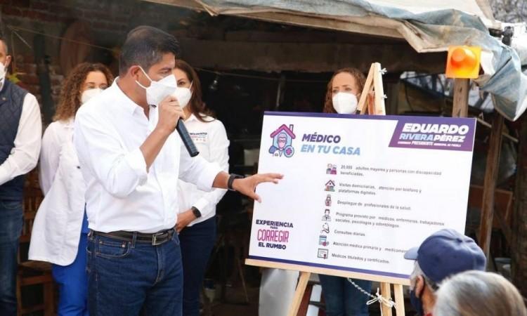 Asegura Eduardo Rivera, candidato del PAN, que la comunidad LGBTI+ tendrá su apoyo