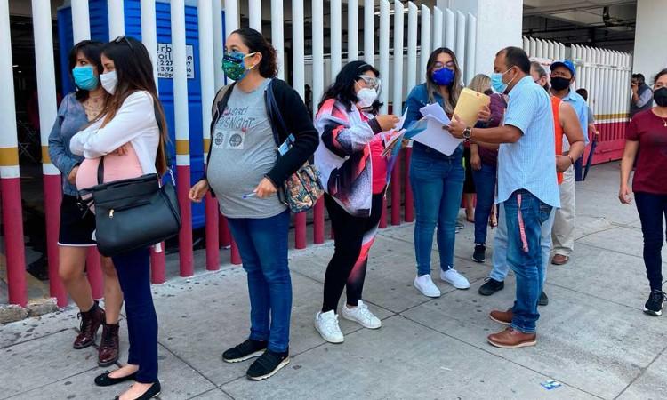 Mujeres embarazadas en Puebla confían en la vacuna anticovid