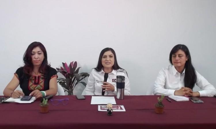 """Gane o pierda dicen que me van a encarcelar"", denuncia Claudia Rivera Vivanco"