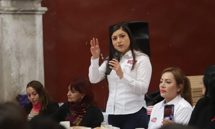 Acusa Claudia Rivera que desde el gobierno estatal planean detener a ella y a sus colaboradores