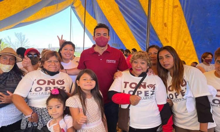 Anuncia Toño López rescate de espacios públicos en San Ramón