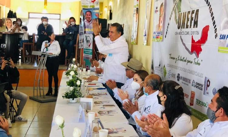 Legislaremos a favor del campo: Humberto Aguilar Coronado