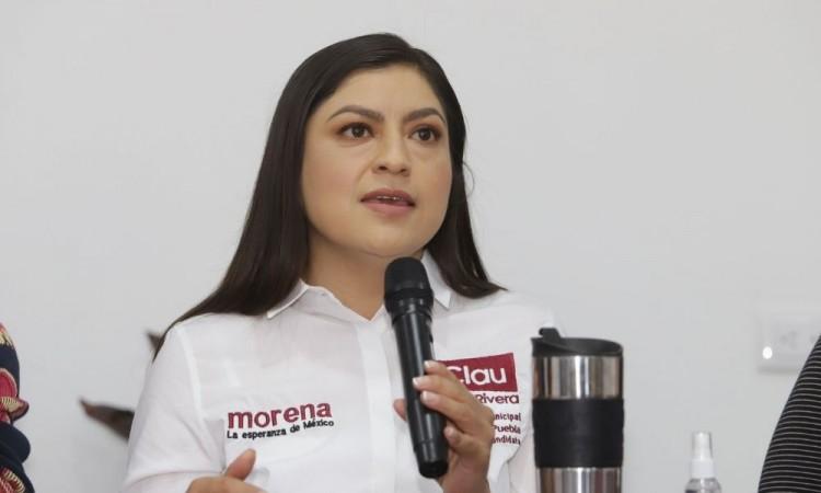 Desde Movilidad y Transportes se pide apoyar a Eduardo Rivera, denuncia Claudia Rivera Vivanco