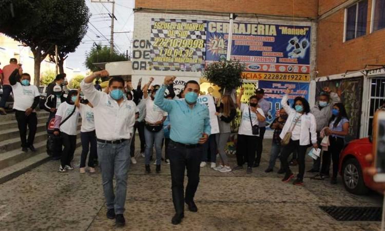 Fabio Nuñez se compromete a velar por la seguridad de habitantes del Distrito 19