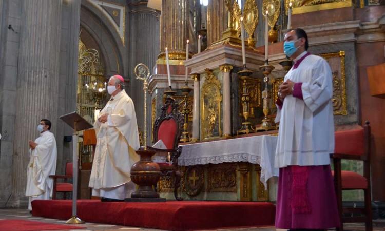 Pide arzobispo de Puebla aceptar los resultados de la contienda electoral para evitar violencia en la ciudadanía
