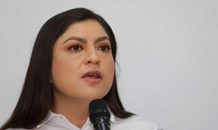 Lamenta Claudia Rivera que el PAN argumente no tener recursos para un debate