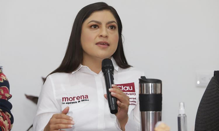 """Confirma Claudia Rivera asistencia al debate; """"me parece algo muy bueno"""""""