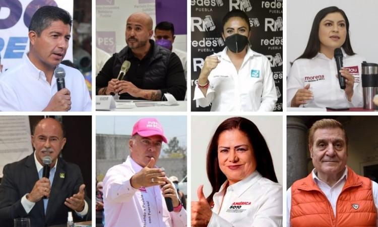 Domingo 30 de mayo debate entre candidatos a la alcaldía de Puebla: IEE