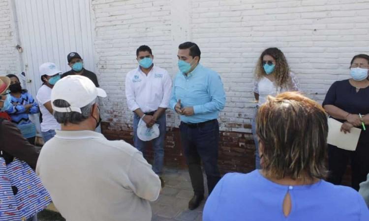 Fabio Núñez visita distintas colonias del Distrito 19 para alentar participación de jóvenes en esta campaña