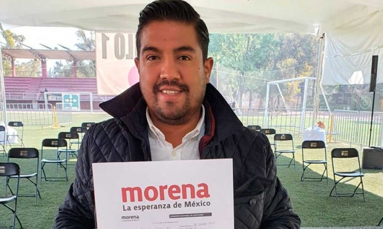 """Morena no es Saúl Huerta y en el Distrito 11 hay """"espíritu de triunfo"""", defiende Carlos Hernández"""