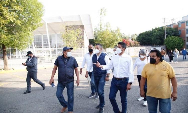 Exige Eduardo Rivera a gobierno estatal y autoridades electorales garantizar seguridad en la contienda