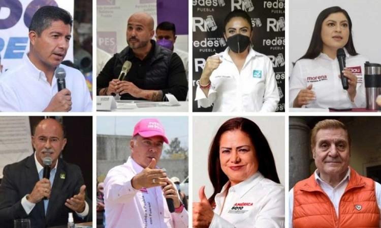 ¿Quiénes son los candidatos a la alcaldía de Puebla y cuáles son sus propuestas?