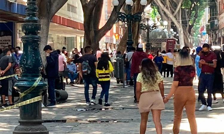 Domingo familiar en Puebla durante pandemia