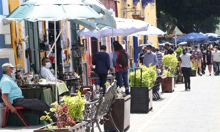 Semáforo amarillo se mantendrá en Puebla, pero disminuirán restricciones en las actividades comerciales