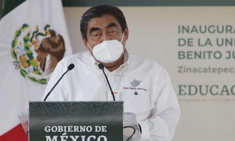 Candidato del PVEM fingió su secuestro para deslindarse de la candidatura: Miguel Barbosa