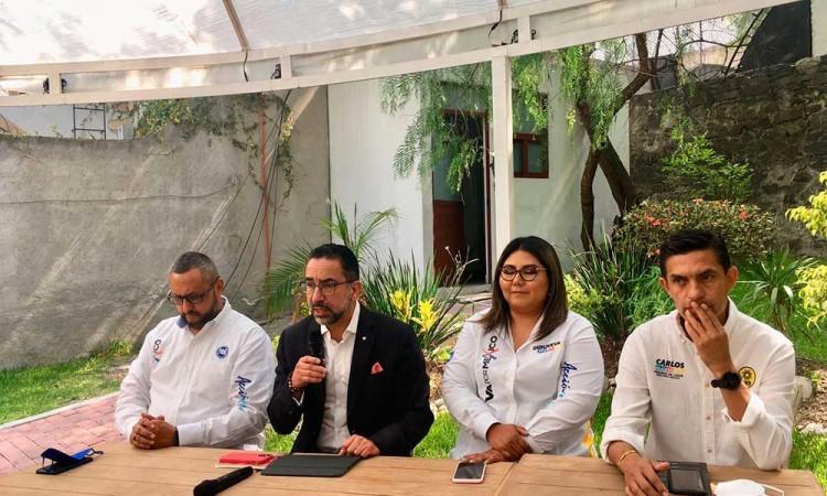 Dirigentes PAN y PRI Puebla: confiamos que la ciudadanía saldrá a votar este domingo