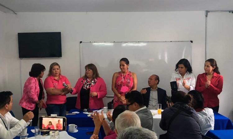 ¡No nos dejaremos! Advierten candidatas a regidores de Rivera Santamaría en Puebla
