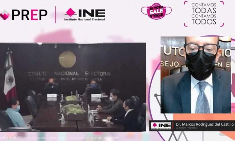 Aprueba INE Puebla las acreditaciones temporales para los observadores electorales