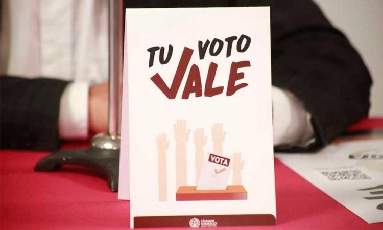 ¡Están listos! CANACO ya tiene preparado todo para premiar a los ciudadanos que emitan su voto este 6 de junio