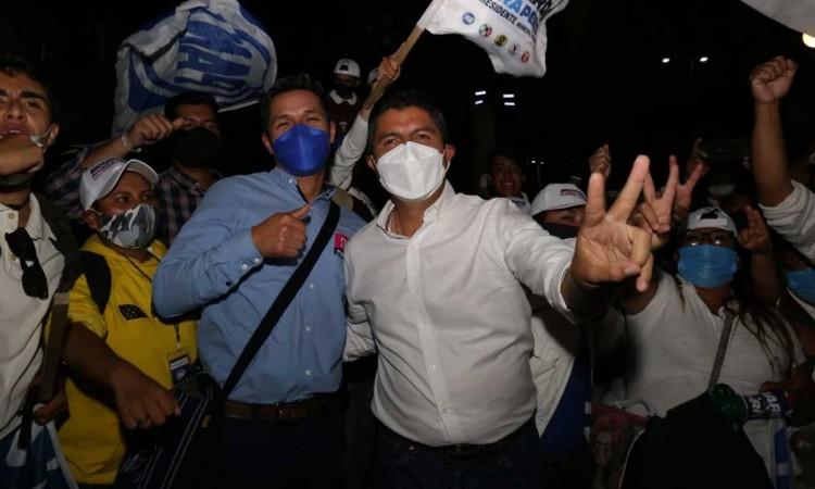 Puebla decidió corregir el rumbo, presume Eduardo Rivera al declararse ganador
