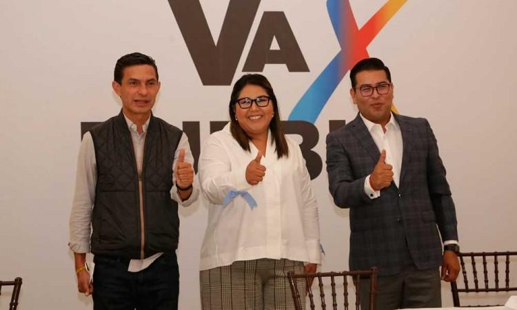 PAN-PRI-PRD con miras al 2024: ven carta fuerte a Eduardo Rivera para la gubernatura de Puebla