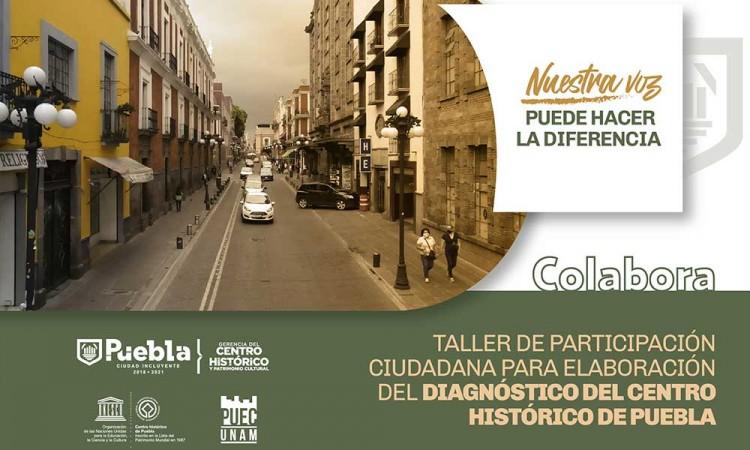 Ayuntamiento organiza taller de participación ciudadana sobre propuestas para mejorar el Centro Histórico