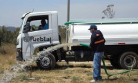 Ayuntamiento de Puebla reúsa agua tratada para riego en parques y áreas verdes