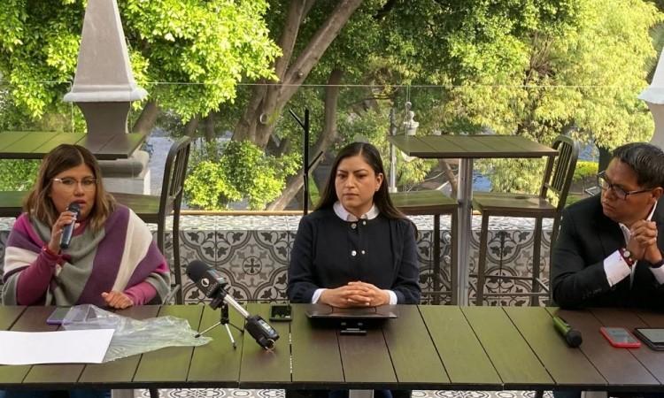 Claudia Rivera reitera que no impugnará resultados de comicios, pero sí va a denunciar irregularidades del IEE