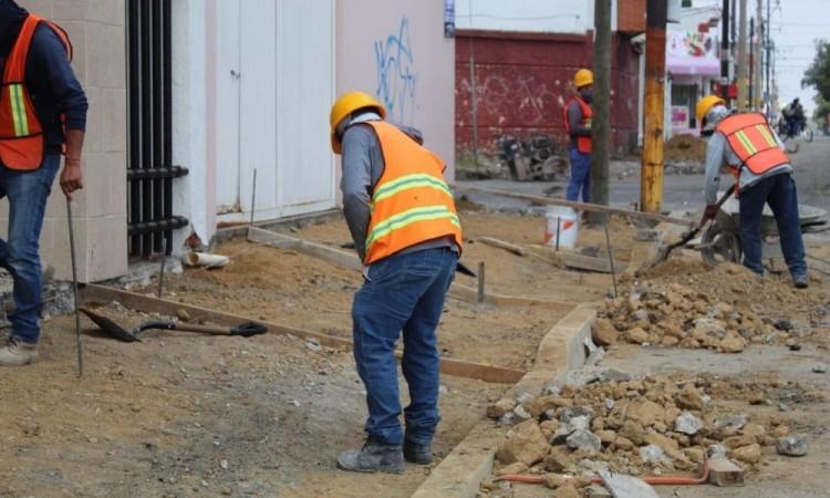 Continúa rehabilitación y construcción de nuevas vialidades en Puebla