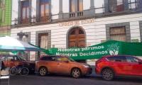 Evade Nora Merino debate para despenalizar el aborto en Puebla, acusan feministas