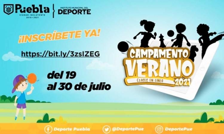 Deporte Municipal invita a participar en el Campamento De Verano 2021