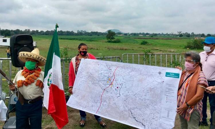 Extracción excesiva de agua por 150 empresas provocaron el socavón en Puebla, denuncian Pueblos Originarios