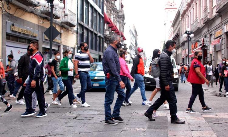 Se reducen los casos de contagios del virus COVID-19 en Puebla