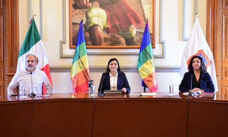 Para conmemorar el Día del Orgullo LGBTTTI, promueven en Puebla derechos de la diversidad sexual