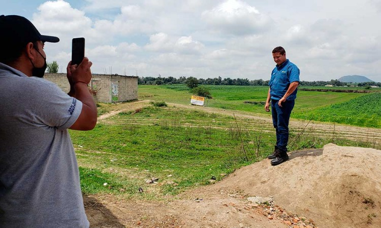 Piden desde el Congreso de Puebla una campaña para disuadir a visitantes del socavón de Zacatepec