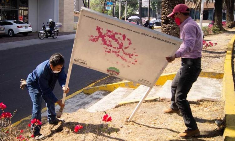 Ayuntamiento de Puebla invita a la ciudadanía a custodiar áreas verdes