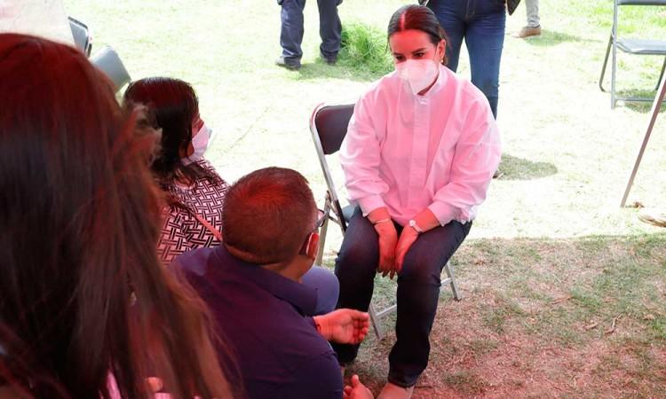 Desconoce Segob causas del rechazo a las propuestas para la nueva casa de la familia Sánchez Xalamihua, afectada por el socavón