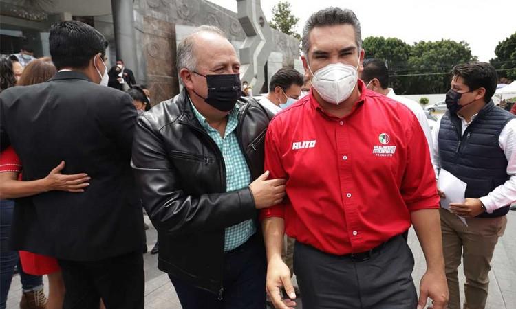 Líder del PRI Nacional visita Puebla para ratificar a Chidiac como próximo coordinador en el Congreso local