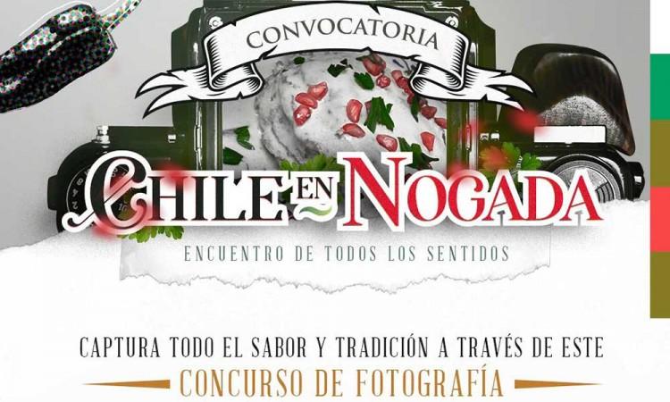 Ayuntamiento invita a participar en concurso de fotografía El Chile en Nogada. Encuentro de todos los sentidos